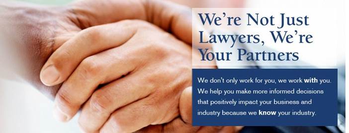 We're not just lawyers, we're your partners